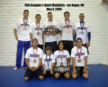 GQ medalists final